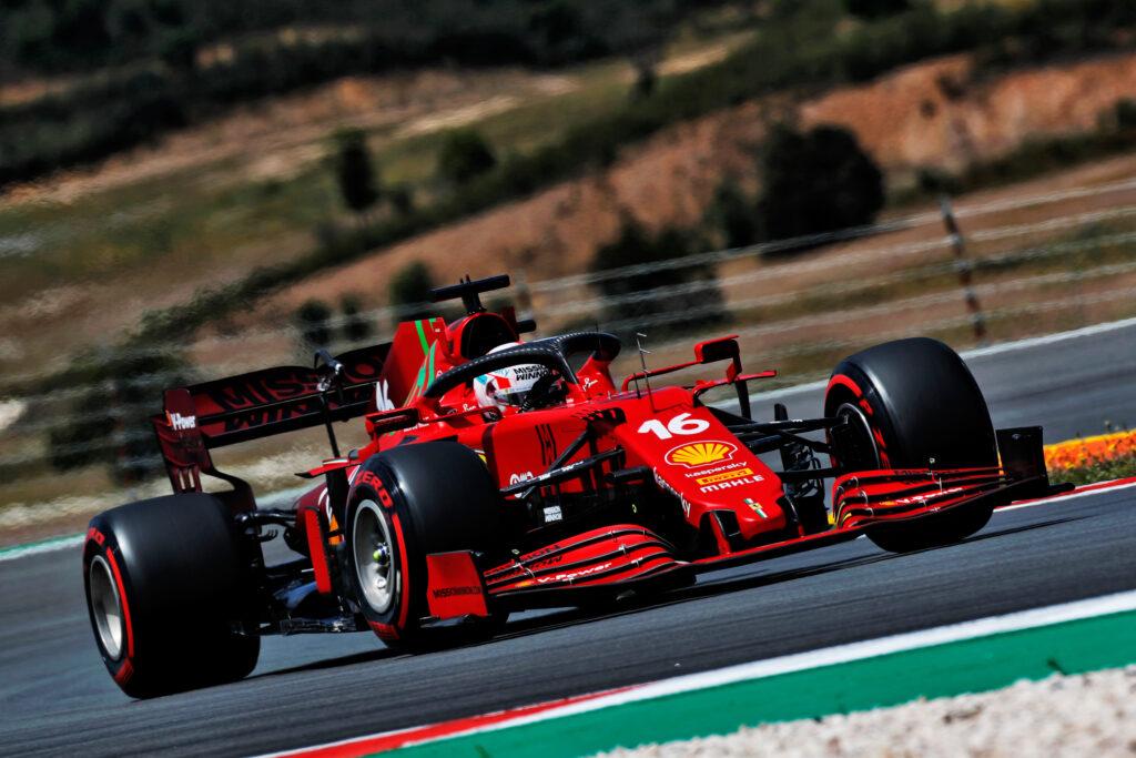 """F1   Ferrari, Charles Leclerc è solo ottavo: """"Ho spinto troppo"""""""