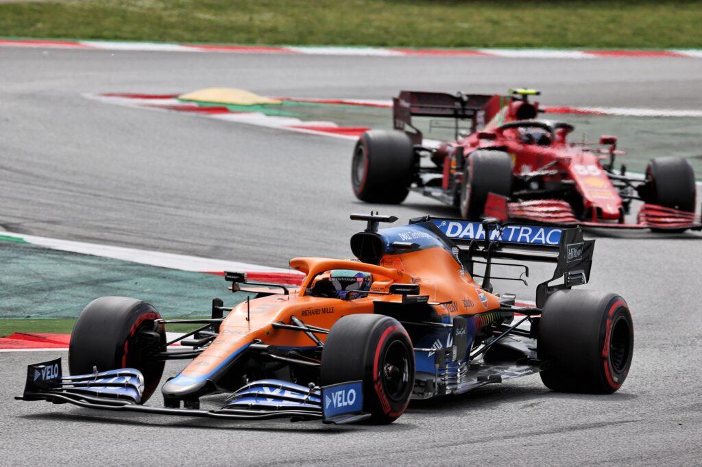 """F1   McLaren, Ricciardo: """"La Ferrari era più veloce di noi"""""""