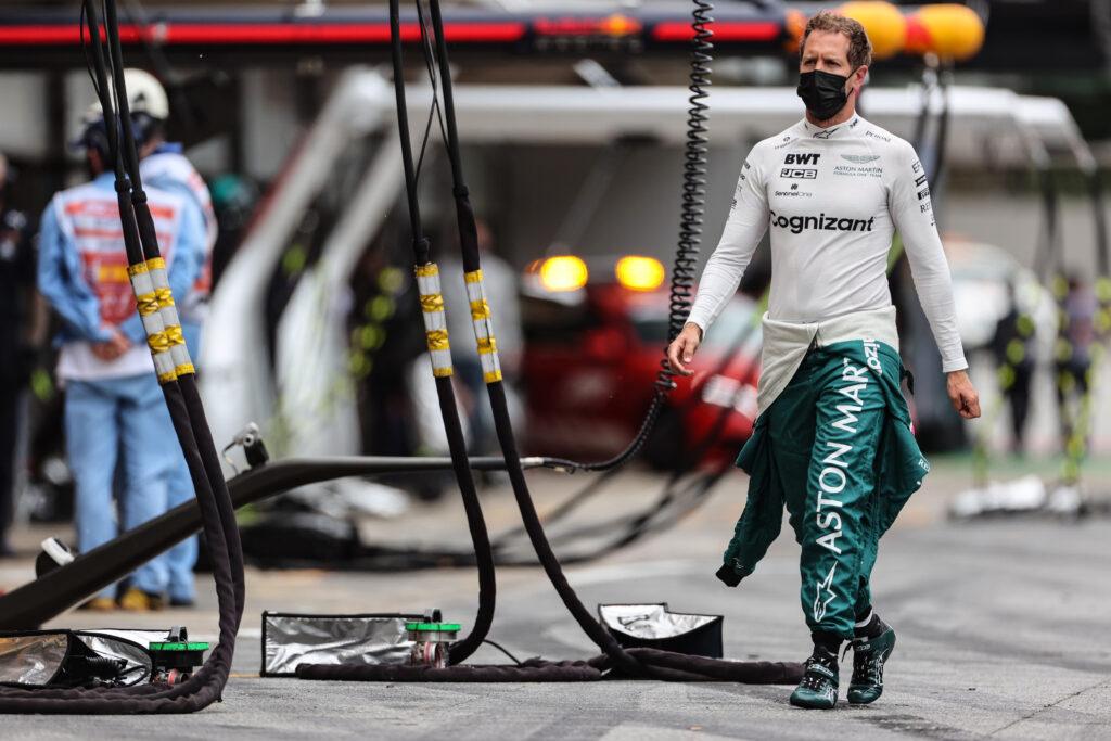 """F1   Aston Martin, Sebastian Vettel: """"Non avevo più gomme per lottare"""""""