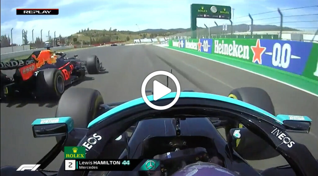 F1 | GP Portimao, la battaglia tra Hamilton e Verstappen [VIDEO]