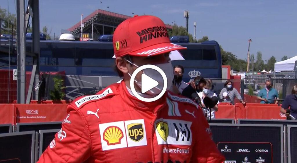 """Formula 1   Sainz: """"Dovremo fare una gara perfetta"""" [VIDEO]"""