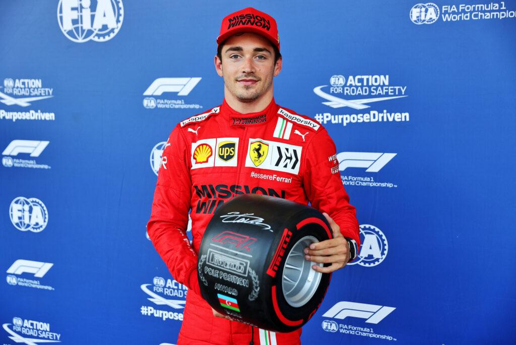 """F1   Ferrari, Charles Leclerc raddoppia: """"E' arrivata la pole, sono felicissimo!"""""""