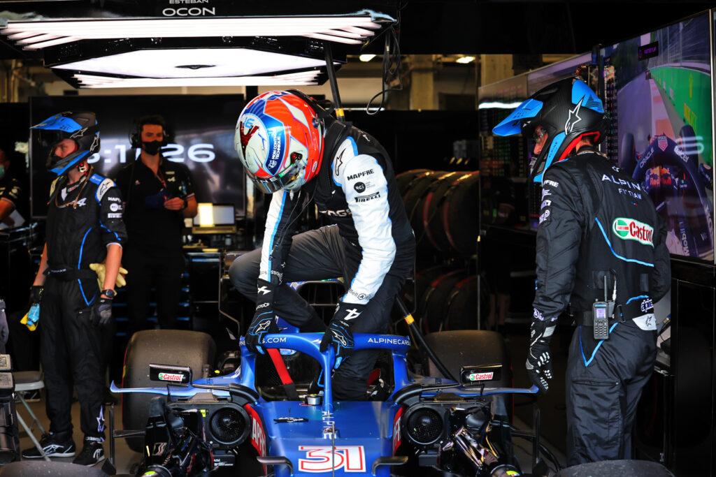 """F1   Alpine, Esteban Ocon costretto al ritiro: """"Non era il nostro weekend"""""""