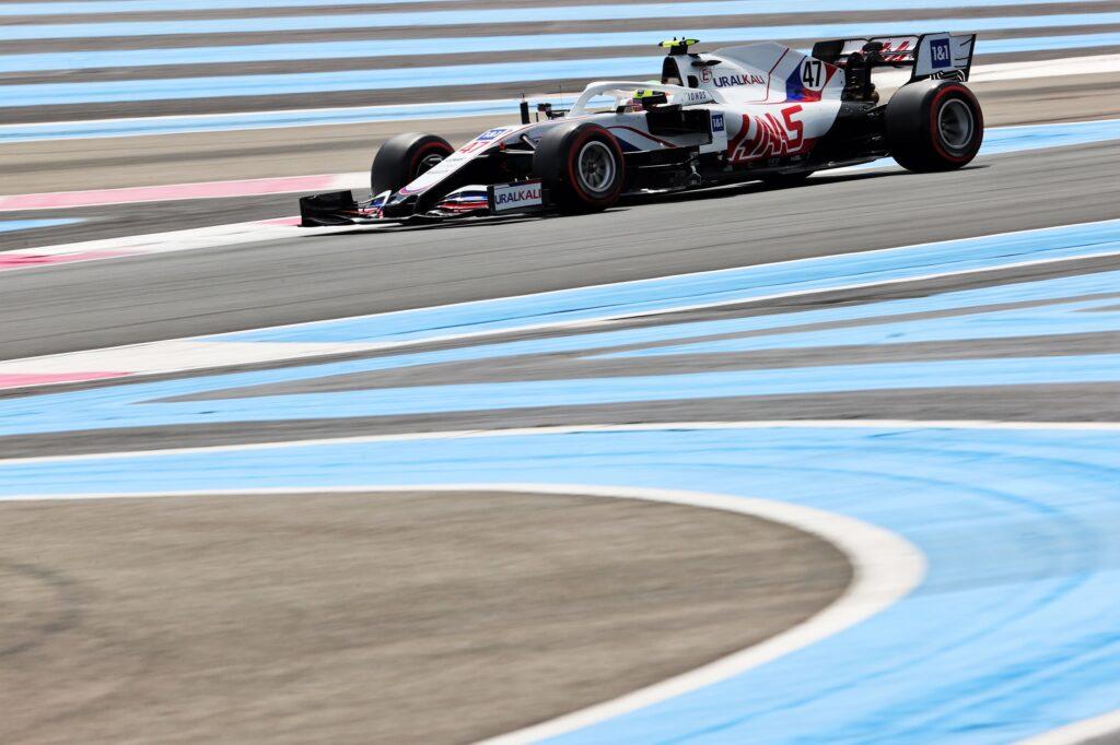 F1   Haas, Schumacher davanti a Mazepin anche a Le Castellet