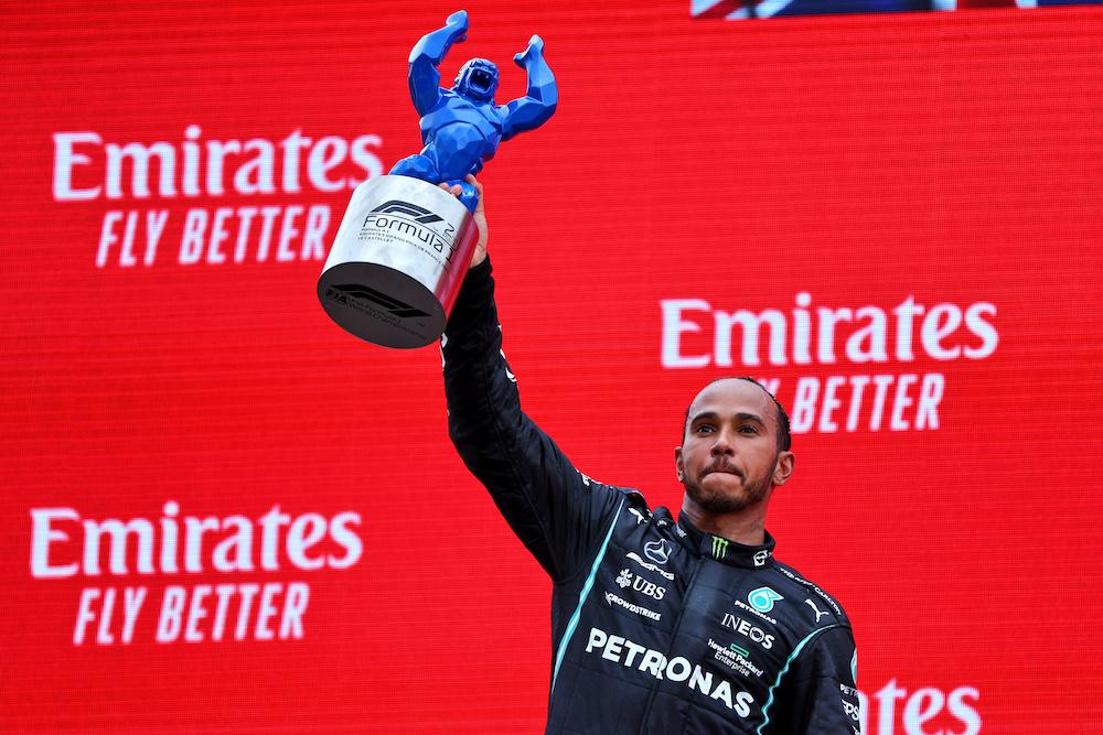 """F1   Mercedes, Lewis Hamilton: """"Sorpresi dal degrado gomme"""""""