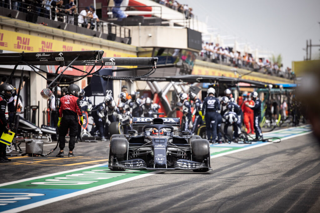 "F1 | AlphaTauri, Yuki Tsunoda: ""L'undercut ha funzionato"""