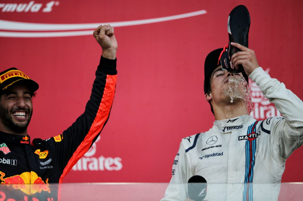 F1   Aston Martin, a Baku il primo podio in carriera di Lance Stroll