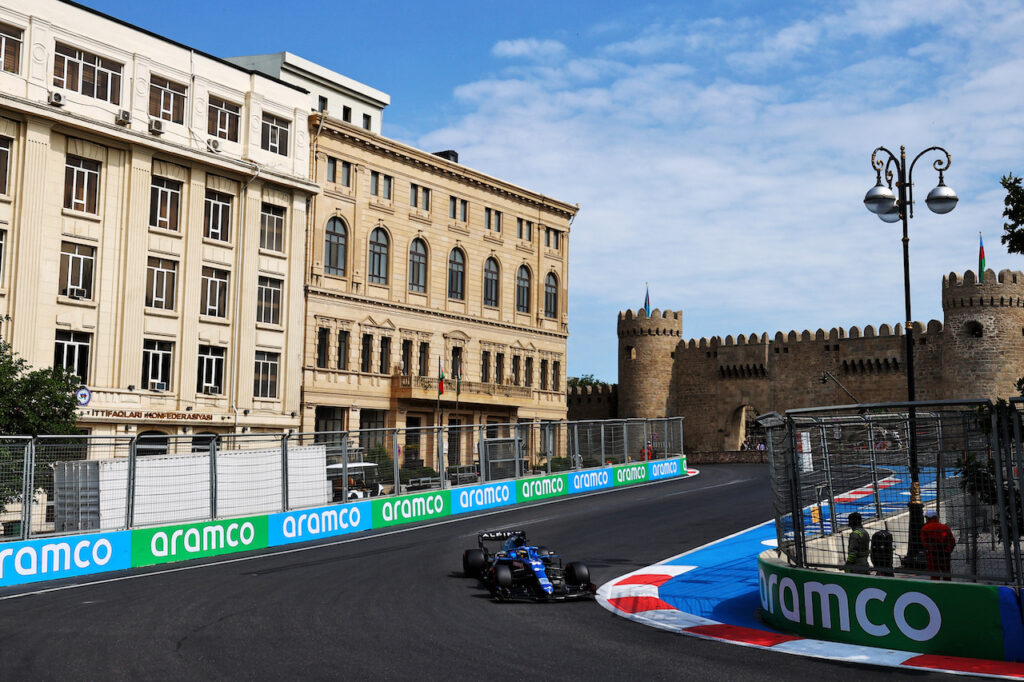 """Formula 1   Alonso: """"Gli ultimi due giri a Baku da cuore in gola"""""""