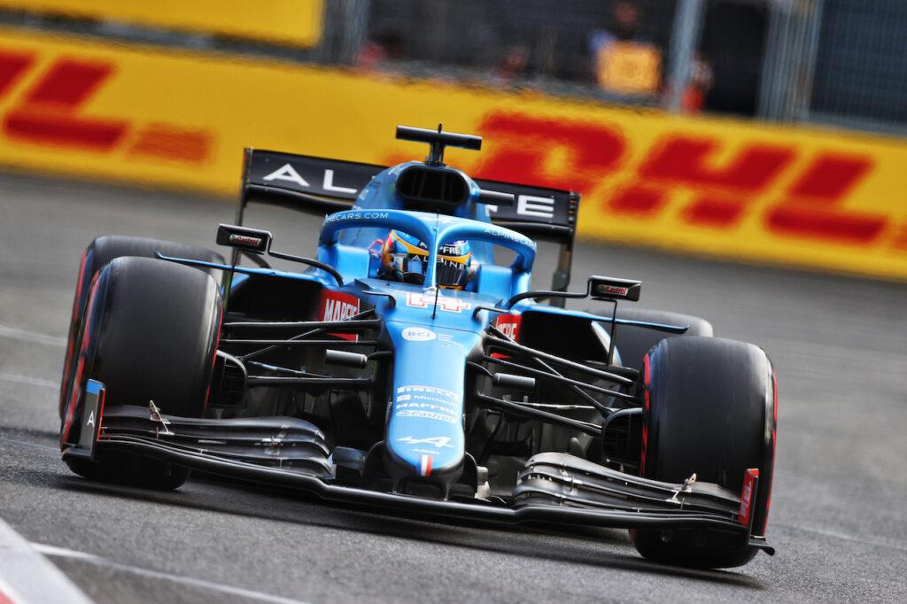 F1   Alpine, Alonso e Ocon carichi per il GP di Francia