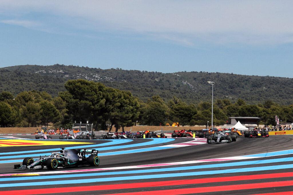 F1 | Le Castellet, una sola frenata è classificata come impegnativa