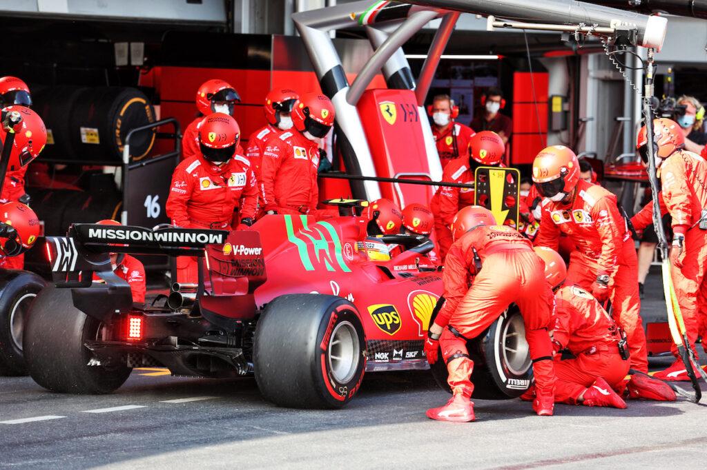 "F1 | Ferrari in Francia senza il logo ""Mission Winnow"""