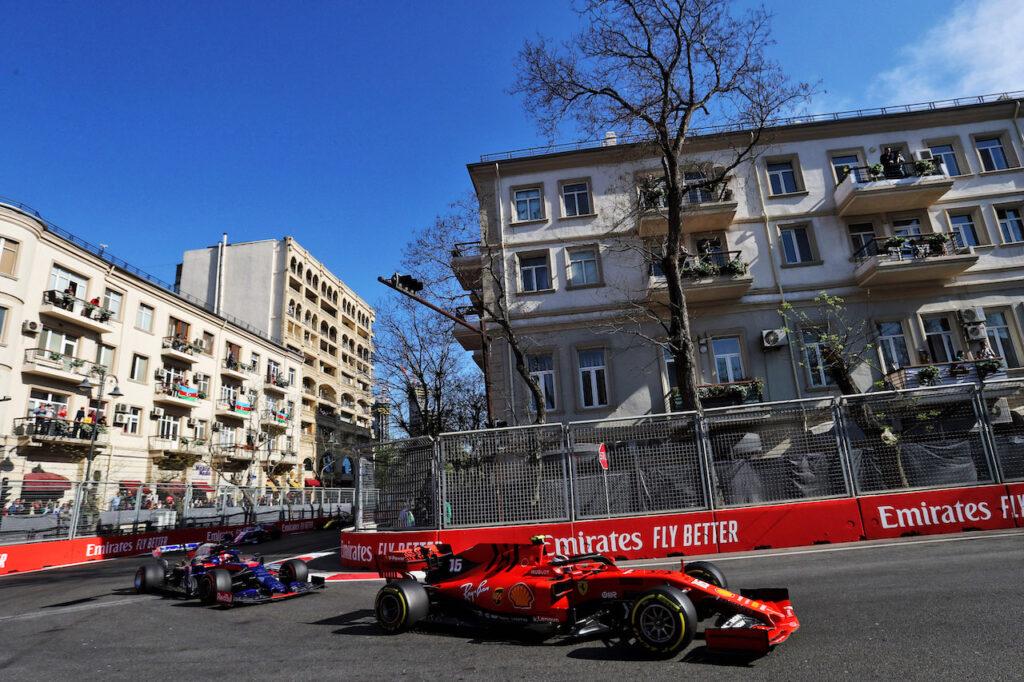 Formula 1   GP Azerbaijan, ogni giro si frena per circa 20 secondi