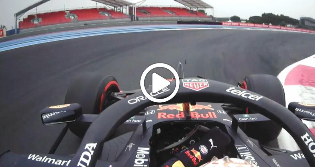 F1 | GP Francia, Verstappen in pole a Le Castellet: l'onboard del giro [VIDEO]