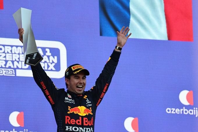 F1 | GP Azerbaijan, Perez: al posto giusto nel momento giusto