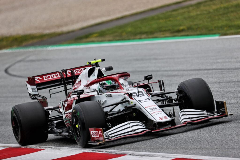 """F1   Alfa Romeo, Antonio Giovinazzi è decimo: """"Sessione positiva"""""""