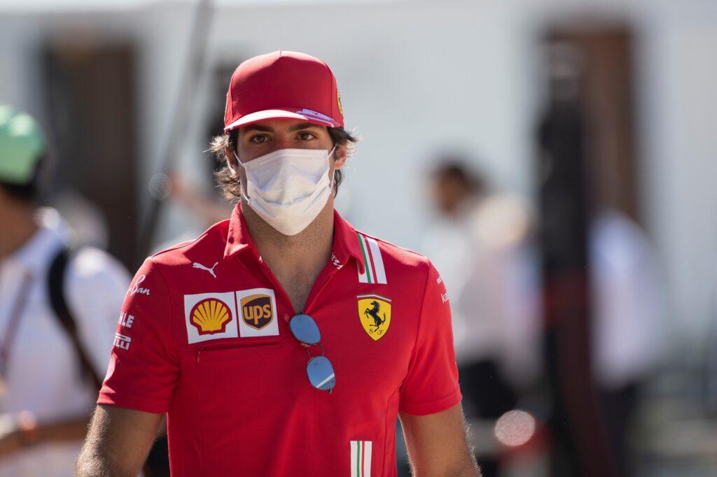 """F1   Ferrari, Sainz: """"Difficile passare Ricciardo"""""""