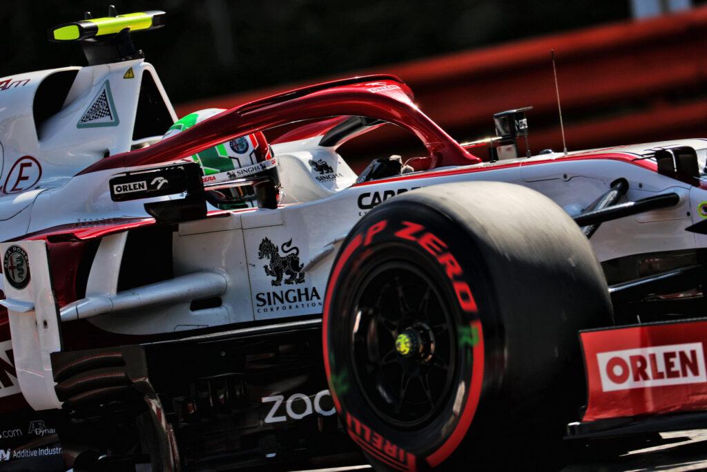 """F1   Alfa Romeo, Antonio Giovinazzi: """"Felici di questo risultato"""""""