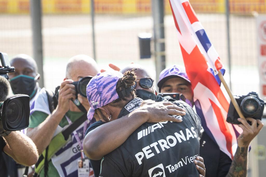 """F1   Hamilton: """"Il lavoro della squadra mi ha motivato a dare il massimo"""""""