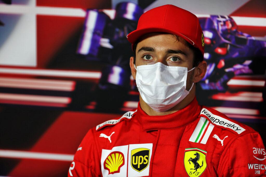 """F1   Leclerc: """"Silverstone dimostra che la squadra sta spingendo al massimo"""""""