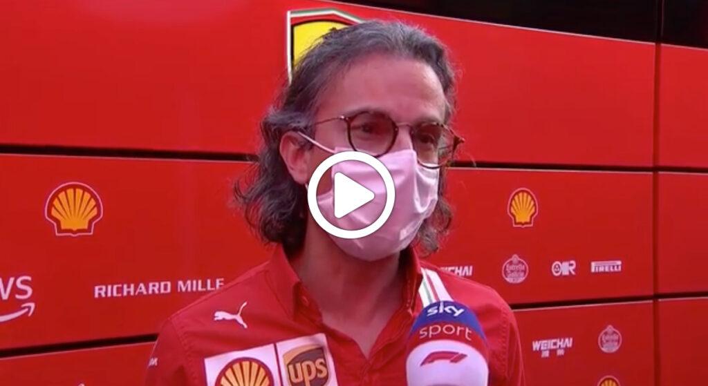 """Formula 1   Mekies sulle qualifiche Ferrari a Budapest: """"Delusi, volevamo la seconda fila"""" [VIDEO]"""