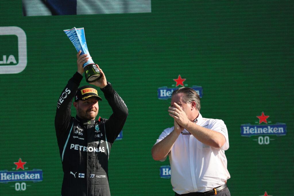 """F1   Mercedes, Valtteri Bottas: """"Avevo detto alla squadra che sarei stato sul podio"""""""