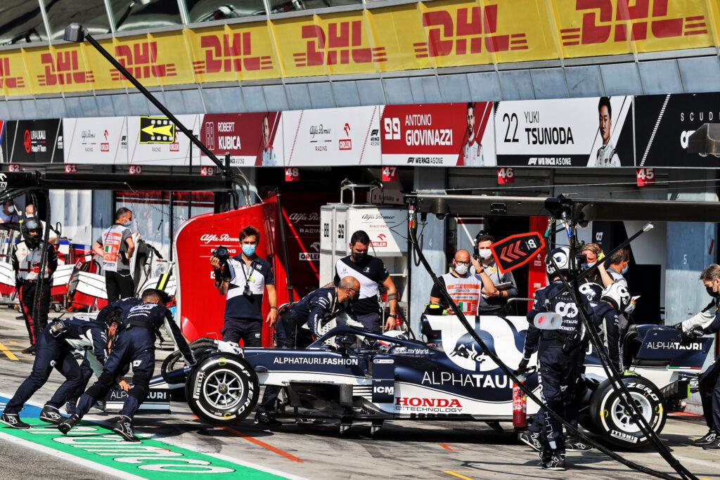F1 | AlphaTauri, doppio ritiro a Monza per Gasly e Tsunoda