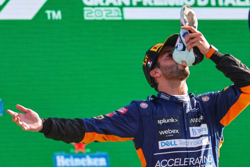 """F1   McLaren, Ricciardo vince a Monza: """"Sono troppo felice"""""""