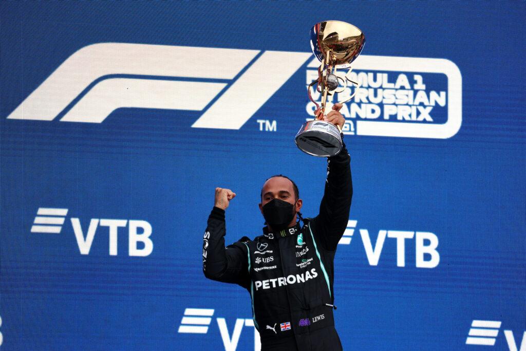"""F1   Mercedes, Lewis Hamilton raggiunge quota cento: """"Mi sono fidato del mio istinto"""""""