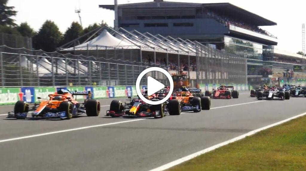 F1 | GP Italia, gli highlights della gara a Monza [VIDEO]