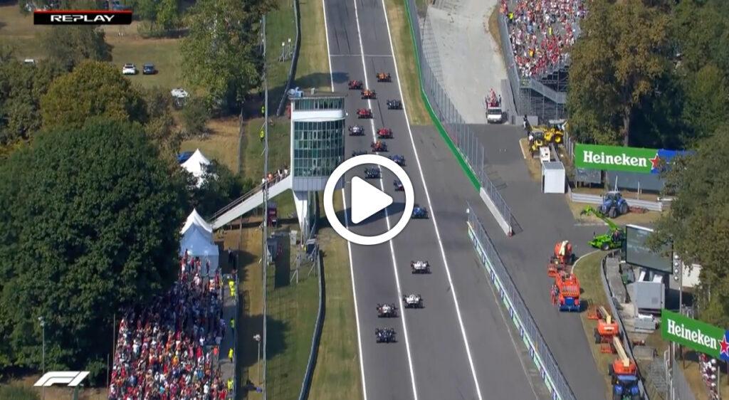 Formula 1 | GP Italia, Ricciardo beffa Verstappen in partenza [VIDEO]