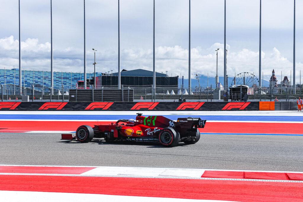 F1 | GP Russia, Leclerc e Sainz chiudono le FP1 in top dieci