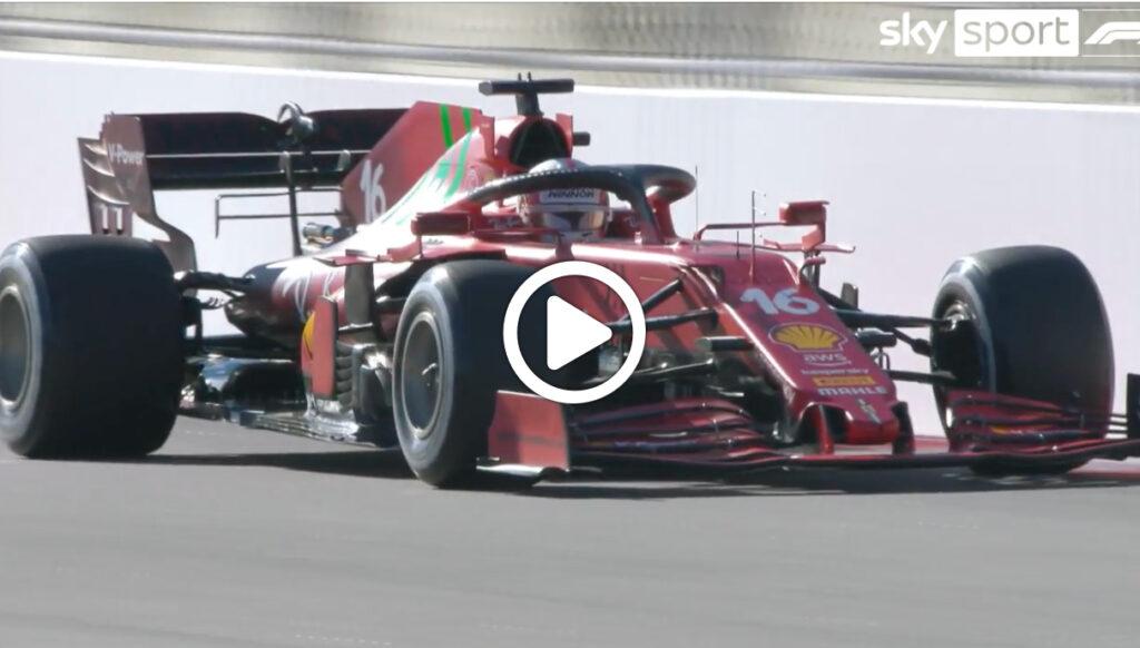 """F1   Leclerc: """"Buone sensazioni dal nuovo motore"""" [VIDEO]"""