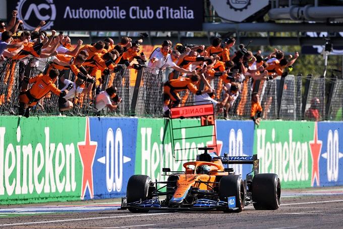 """F1   GP d'Italia, Ricciardo: una vittoria che """"significa tutto"""""""