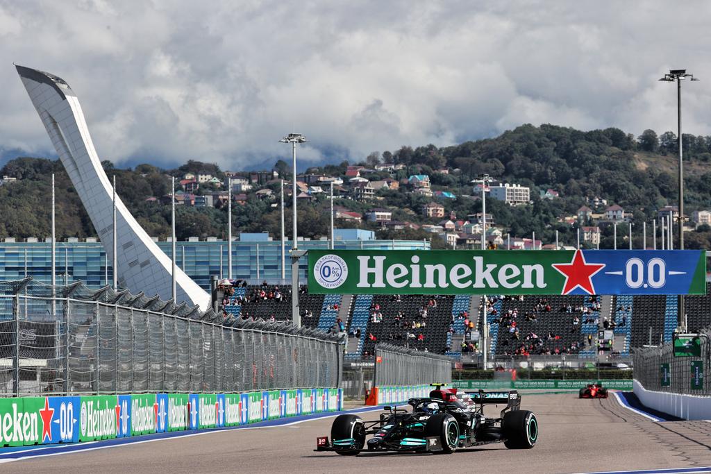 F1 | GP Russia 2021: Bottas al comando delle prime libere