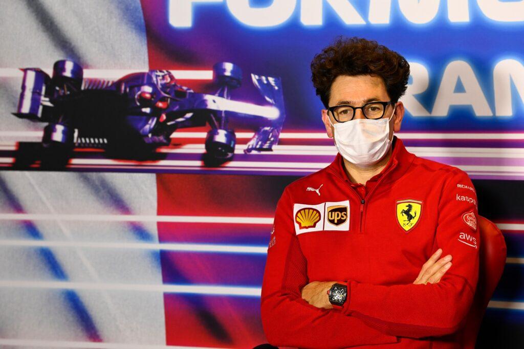 F1   Ferrari, Binotto non sarà a Istanbul per il GP di Turchia