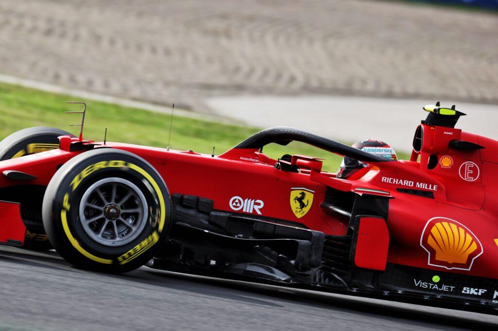 F1 | Ferrari, Sainz si è concentrato sul passo gara nelle libere a Istanbul