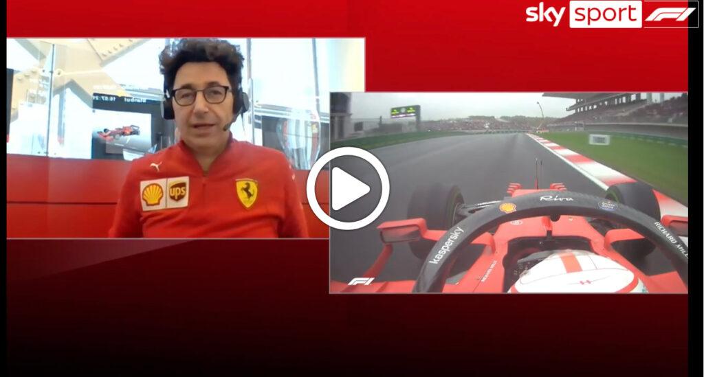 """Formula 1   Binotto: """"Con il nuovo motore più vicini ai migliori"""" [VIDEO]"""