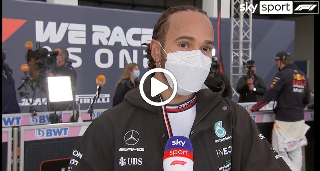 """Formula 1   Hamilton deluso: """"Abbiamo perso punti, parlerò con il team"""" [VIDEO]"""