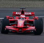 Il primo commento di Schumacher sulla nuova F2008