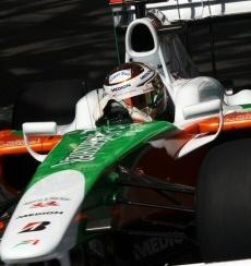 Force India: Problemi di graining a Monaco
