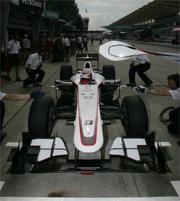 Sauber: modificata l'ala anteriore