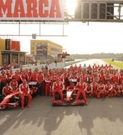Ferrari: festa a Valencia