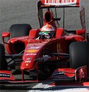 Ferrari: Fisichella soddisfatto del venerdi' a Monza