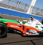 Force India: buoni progressi nel weekend del GP Europa