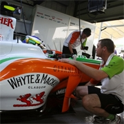 Force India: in Cina Sutil soddisfatto, problemi per Fisichella