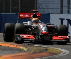 "Lewis Hamilton: ""Monza e' un circuito fantastico"""