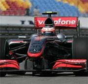 McLaren Mercedes: miglior tempo e miglioramenti nel venerdi in Turchia