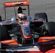 McLaren: Hamilton in pole, Kovalainen competitivo a Monza