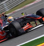 McLaren Mercedes nella giusta direzione in Cina
