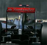 McLaren conferma che Santander restera' come sponsor